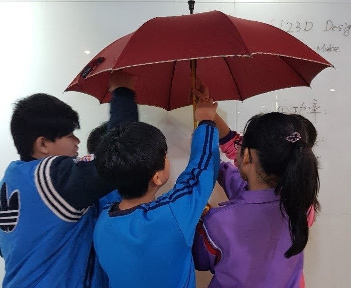 Maker culture, Tool, Culture, Penghu, Taichung, 澎湖创客基地, Umbrella, , 劳动部劳动力发展署中彰投分署, , Maker culture, umbrella, fashion accessory, product, fun, girl