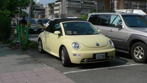 是總有一天我要擁有Beetle金龜車敞篷版!!這篇文章的首圖