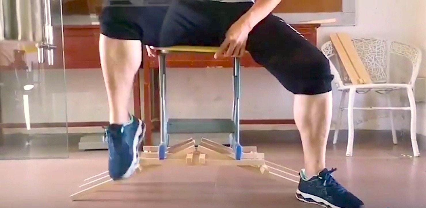 癮科技, Mechanics, Thigh, Structure, Wood, Nail, Arch, Structural load, Arch bridge, Mortise and tenon, 137207, leg, thigh, human leg, joint, shoulder, knee, standing, floor, arm, physical fitness