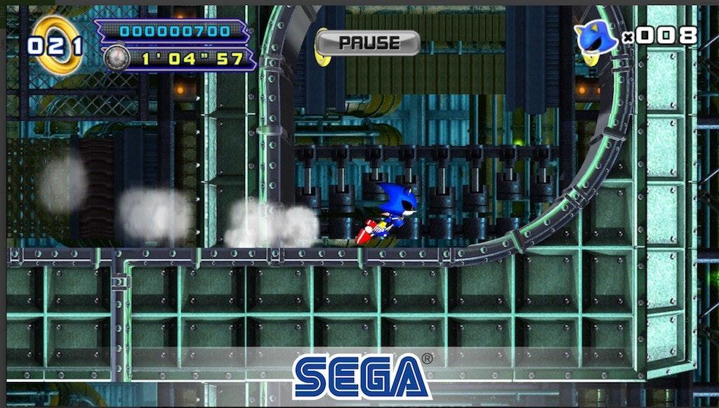Sonic the Hedgehog 4: Episode II, Sonic the Hedgehog 4: Episode I, Metal Sonic, Sonic Chaos, Doctor Eggman, PC game, Sega Forever, , Sega, Video Games, Sonic the Hedgehog 4: Episode II, games, pc game, technology, video game software, software, screenshot, Sega