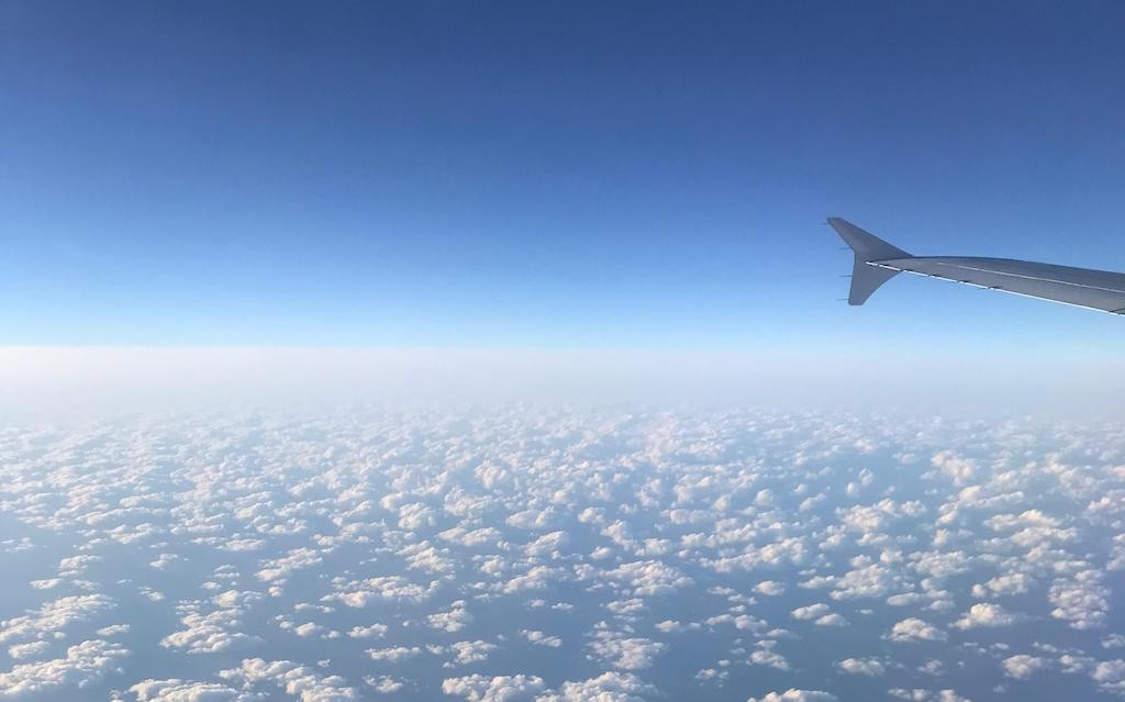 09738, Airliner, Aviation, Airline, Cumulus, Microsoft Azure, Sky, sky, Sky, Air travel, Atmosphere, Daytime, Wing, Aerospace engineering, Horizon, Cloud, Airline, Airplane