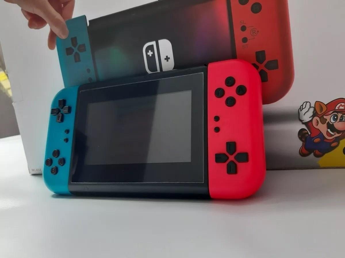照片中提到了NC414,包含了超級馬里奧兄弟3、任天堂Switch、任天堂3DS、超級馬里奧奧德賽、超級馬里奧兄弟3