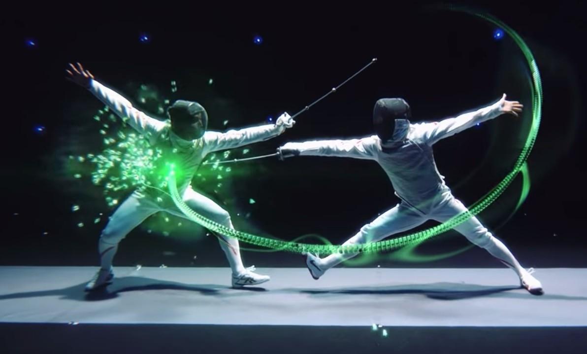 動態捕捉和AR技術讓明年東京奧運的西洋擊劍變得超好看