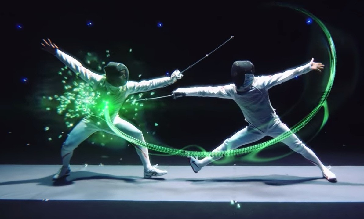 照片中包含了舞蹈家、擊劍、武術、劍術、全日本フェンシング選手権大會