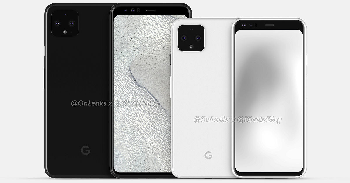 Google Pixel, Pixel 4, Samsung Galaxy S10, Google, , Google, Android, Samsung, , Google Pixel 4, pixel 4 leaks, Mobile phone, Gadget, Communication Device, Mobile phone case, Portable communications device, White, Smartphone, Electronic device, Product, Technology