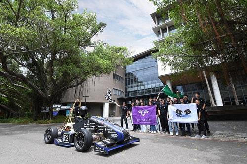 清華大學打造電動方程式賽車 從頭到尾全台灣製造