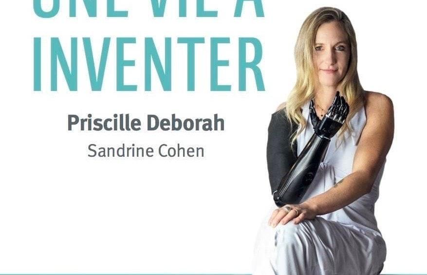 照片中提到了INVENTER、Priscille Deborah、Sandrine Cohen,包含了長發、阿爾比、亞馬遜網、發明家:不可侵犯的法國總理、書