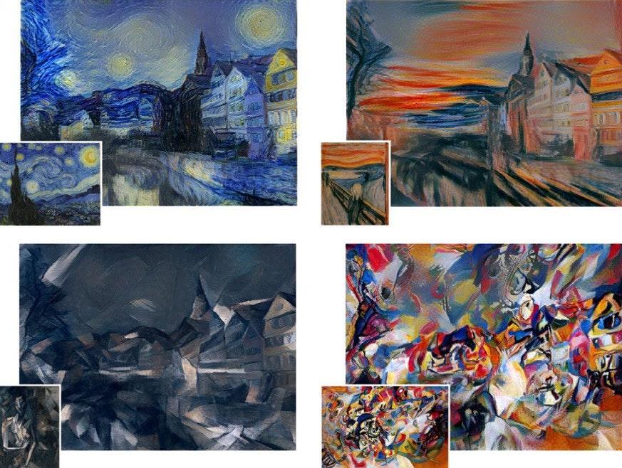 是技術成分高於藝術天份的神經網路繪畫這篇文章的首圖