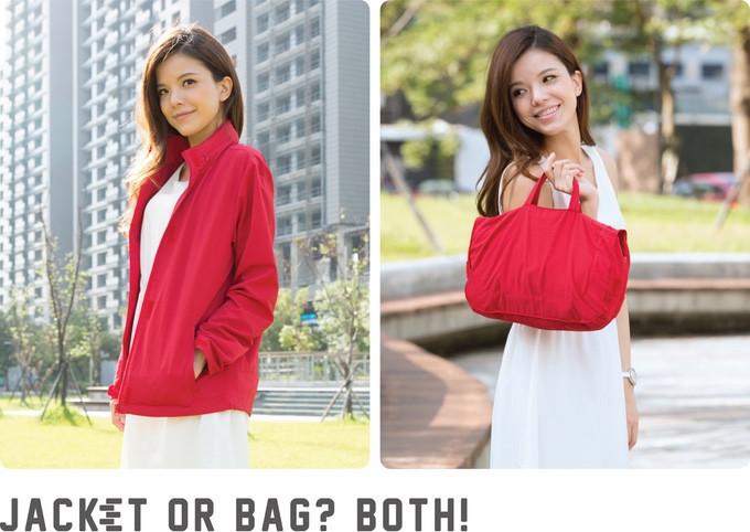 是不穿的外套可以變成包包的DUOKET這篇文章的首圖