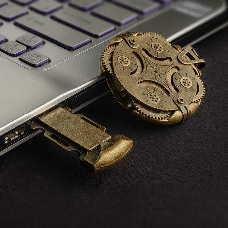 是用四個齒輪加密你的USB隨身碟這篇文章的首圖