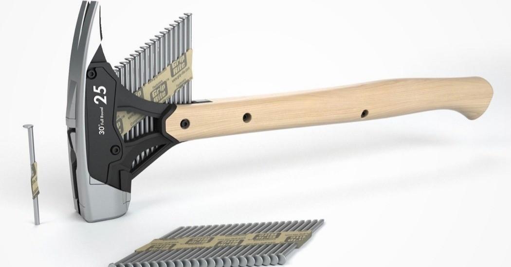 Car, Hammer, Nail, Nail gun, Framing hammer, Tool, Design, Invention, Industrial design, Automotive design, auto nail hammer, tool, hardware, hammer, axe