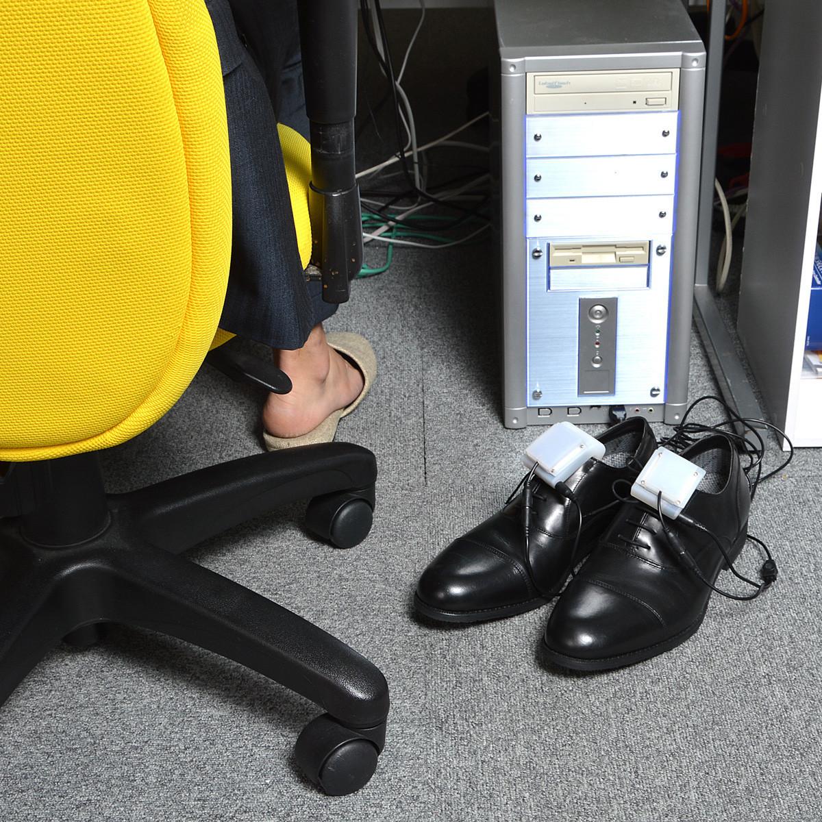 是苦命通勤族必備攜帶式USB烘鞋機這篇文章的首圖