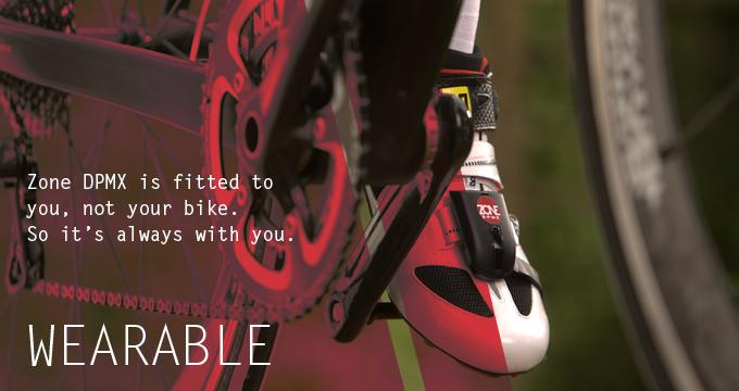 世界第一款穿戴式自行車功率計