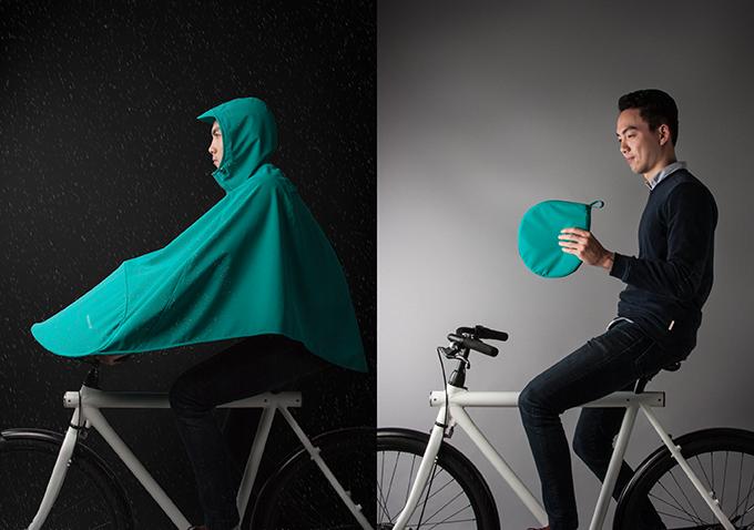 是方便攜帶、快速又好收納的雨披BONCHO,自行車族適用這篇文章的首圖