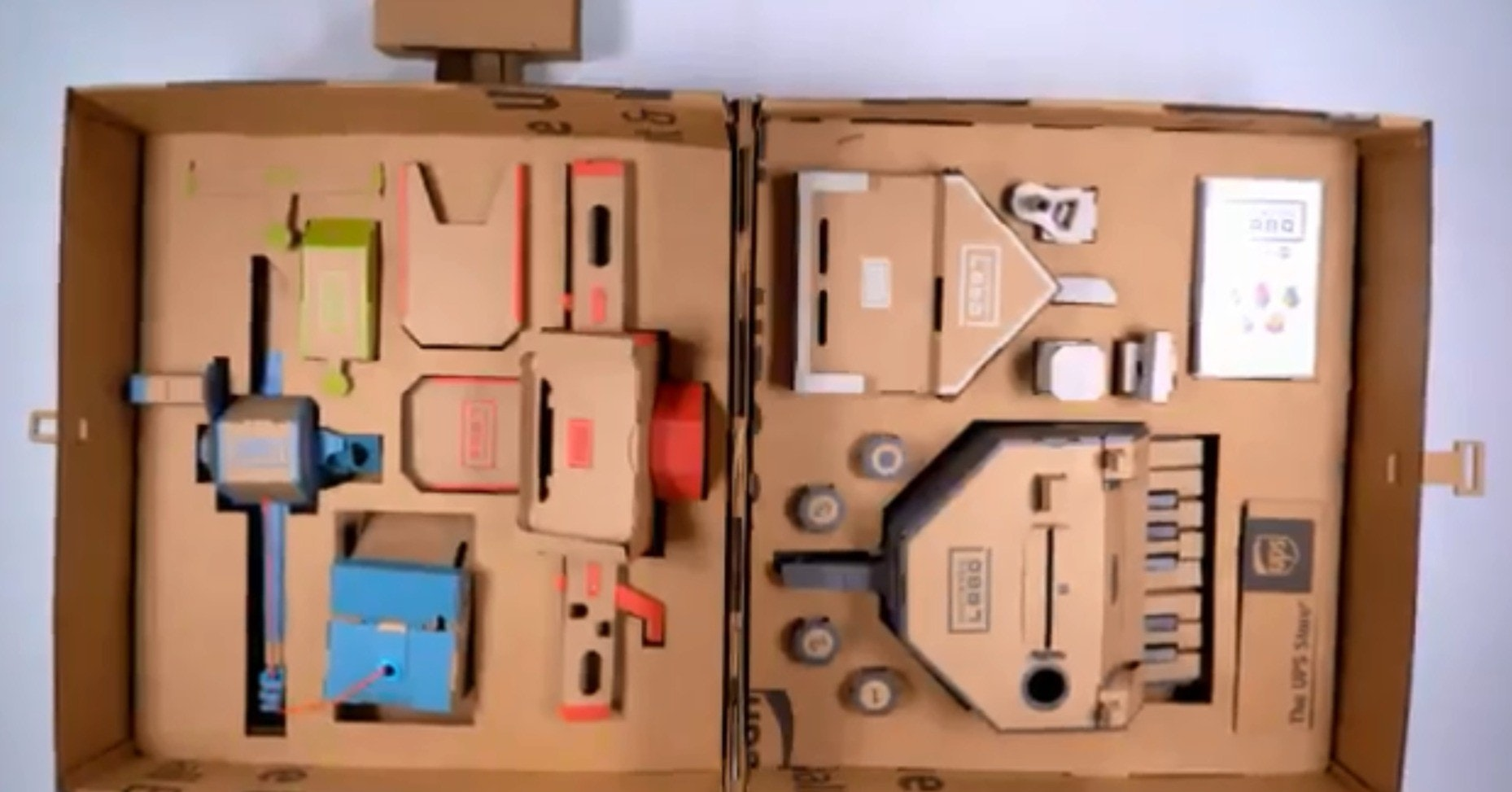 Nintendo Labo, Wii, Final Fantasy, Nintendo, , Video game, The Last Story, Video Game Consoles, PlayStation 4, Xbox 360, Nintendo Labo, product, product design, home, furniture, electrical wiring
