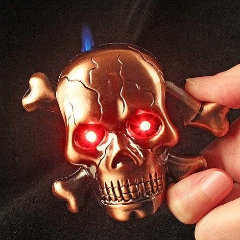 是可以勸退抽煙的骷髏造型打火機這篇文章的首圖