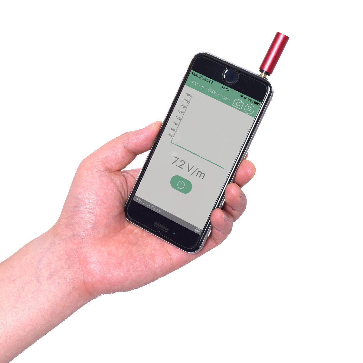 是插入耳機孔就可以測量電磁波的小物這篇文章的首圖