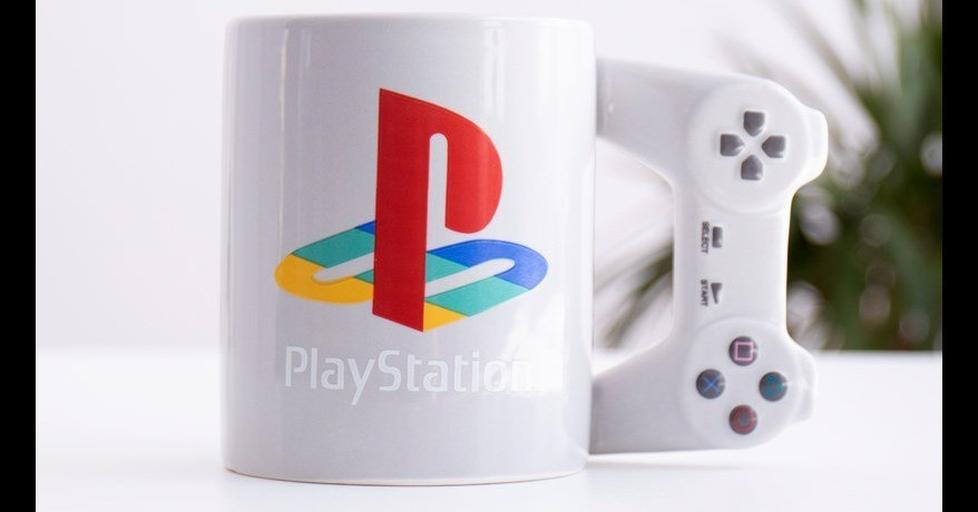 PlayStation, PlayStation 4, PlayStation Controller, Game Controllers, Video Games, PlayStation 2, DualShock, Nintendo Switch Pro Controller, Video Game Consoles, Mug, PlayStation Controller, product, technology, mug, product, electronic device, drinkware, PlayStation
