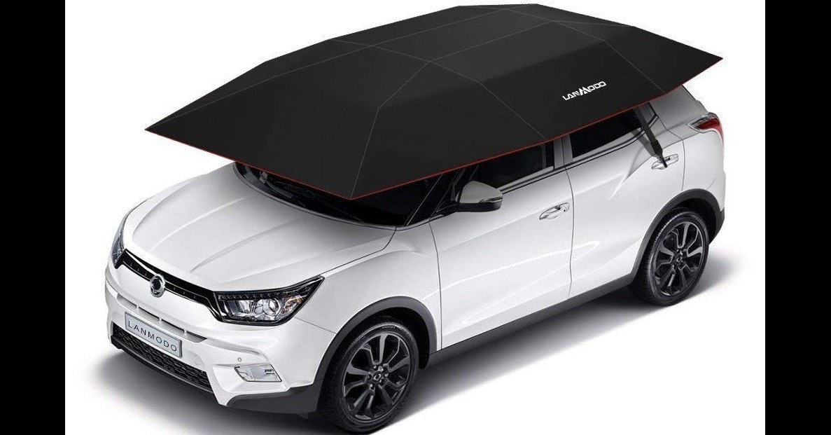 Car, Tent, Roof tent, Automatic transmission, Canopy, Windshield sun shades, Umbrella, Semi-automatic transmission, Carport, Remote Controls, lanmodo car tent, motor vehicle, car, vehicle, technology, automotive design, automotive exterior, bumper, automotive wheel system, rim, vehicle door