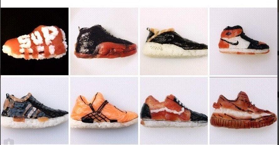 是可以一口吞下、一次搜集的 AIR JORDAN 紀念球鞋握壽司這篇文章的首圖