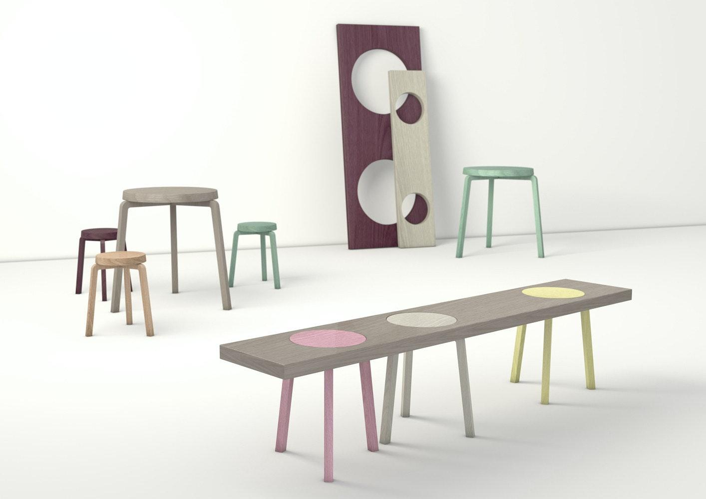 是圓凳板凳長條桌…三個願望一次滿足這篇文章的首圖