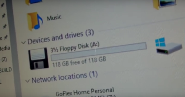 是史上最強,擁有128GB容量的超級軟碟!這篇文章的首圖