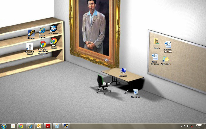 是糾感心的電腦桌面,真的把「電腦」放在書桌上,把「資源回收筒」放在地上這篇文章的首圖