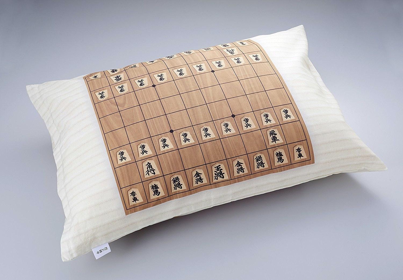 Shogi, 赤玉株式会社, Сёгибан, Tokyo, Sleep, , 駒, Pillow, Bedding, , Shogi, pillow, cushion, product design, material, linens, throw pillow, product