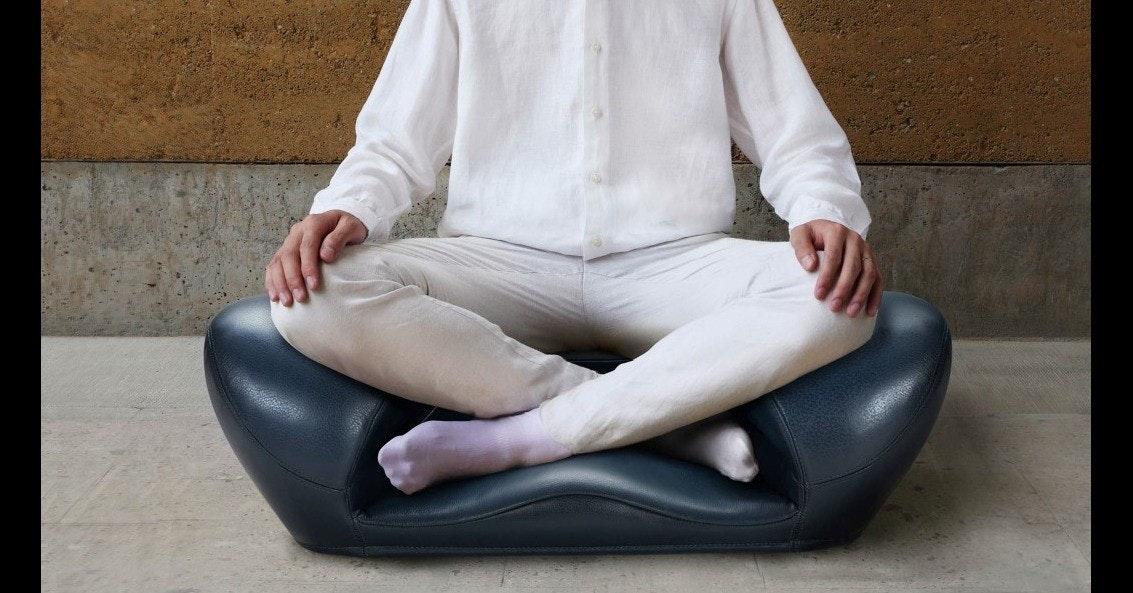 Meditation, Chair, Seat, Lotus position, Furniture, Cushion, Zafu, Sitting, Buddhist meditation, Interior Design Services, meditation chair, sitting, furniture, couch, leg, arm, chair, neck, shoe