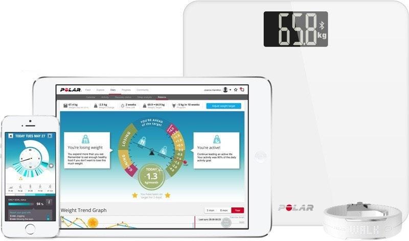 是CES 2016:Polar 新推體脂計Balance,可無線傳輸數據到相關裝置上,讓你真實面對體重這篇文章的首圖