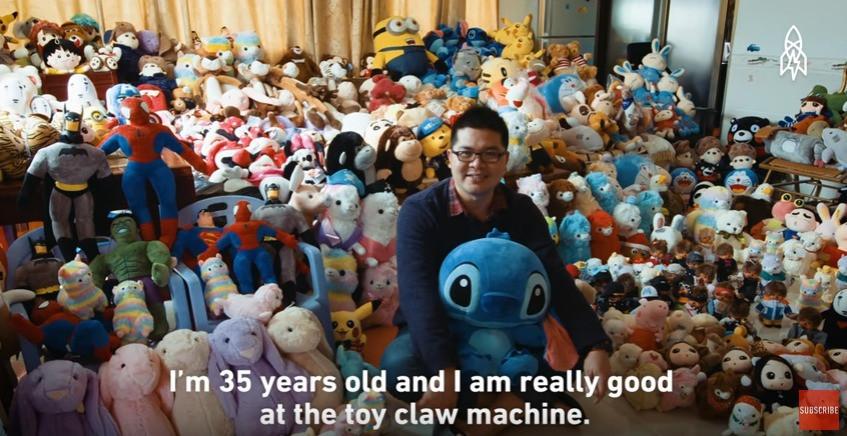 是一年抓15K隻絨毛娃娃的男人這篇文章的首圖
