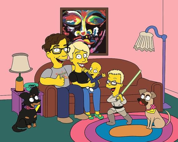 是想當鄉民梗卡通:辛普森家庭 的主角嗎?這裡幫你實現!這篇文章的首圖