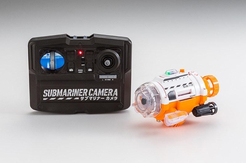 是紅外線遙控潛水艇相機這篇文章的首圖
