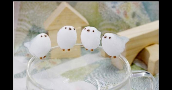 Long-tailed tit, Bird, シマエナガちゃん, Sugar, Animal, Village Vanguard, , Hokkaido, Cup, , シマエナガ シュガー, bird