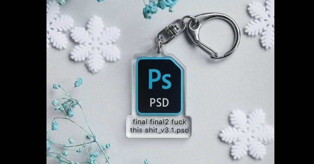 照片中提到了Ps、PSD、final final2 fuck,跟Adobe公司、Adobe公司有關,包含了Adobe Photoshop、鑰匙扣、Adobe Photoshop、土坯、平面設計