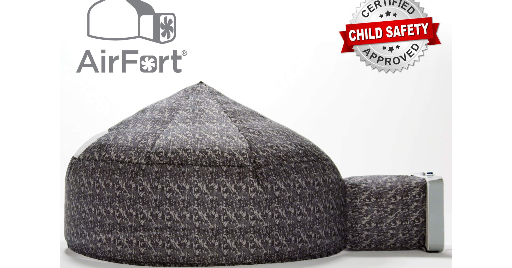 The Original AirFort Build A Fort in 30 Seconds, Fortification, Play Tents & Tunnels, Second, Dress Up, Pacific Play Tents, Building, Knit cap, , HearthSong, air fort, Cap, Knit cap, Beanie, Headgear, Font, Bean bag chair, Furniture, Rock