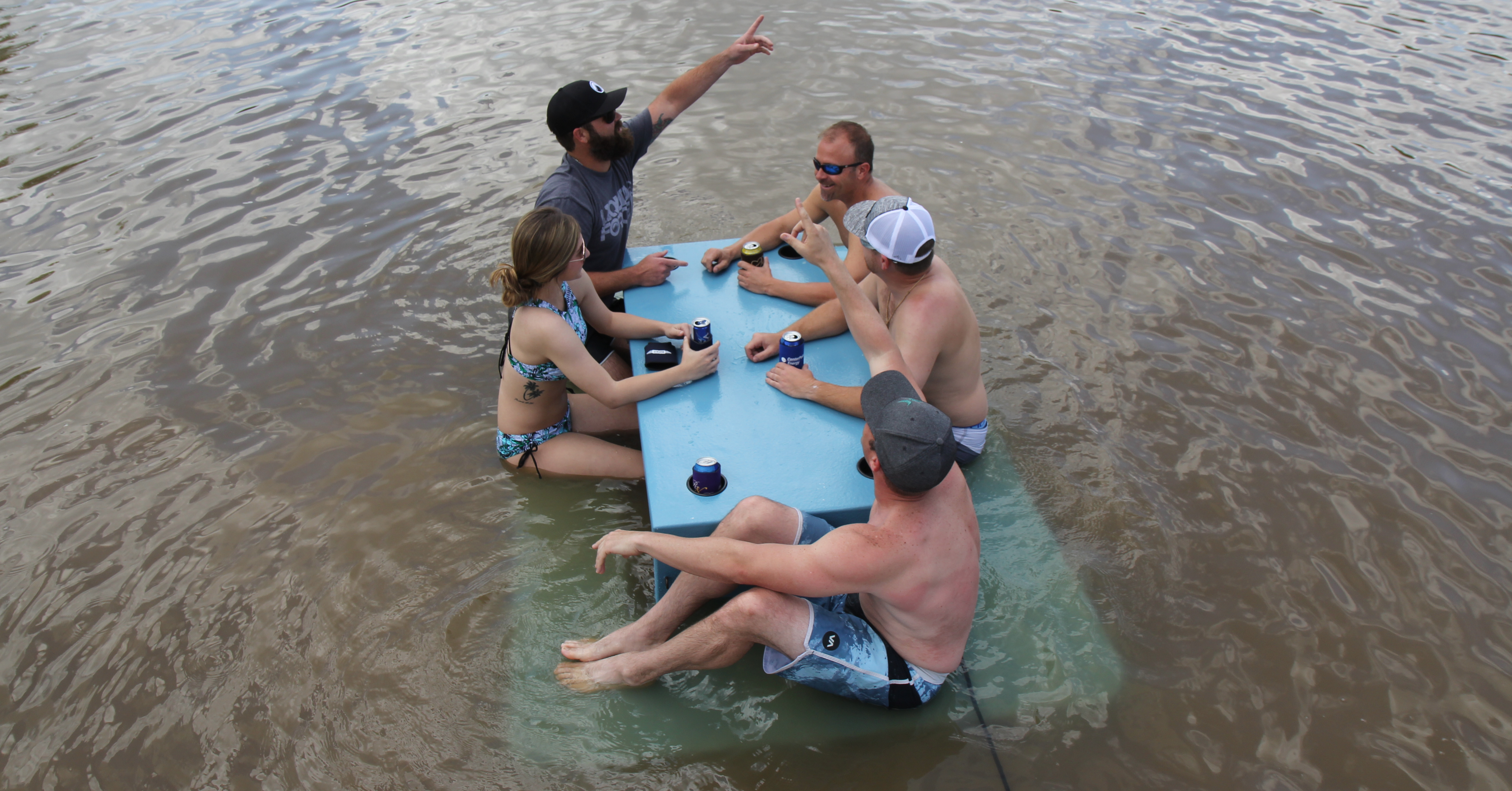Table, Picnic, Picnic table, Water, Tray, Cooler, Drink, Eating, Vacation, Plastic, water, Fun, Vacation, Recreation, Water, Leisure, Summer, Tubing, Vehicle