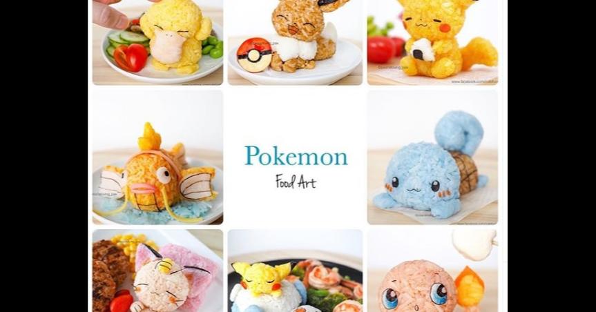 Pokémon GO, Onigiri, Food, Pokémon, Bento, Sundae, Rice, Eating, Eevee, Snorlax, junk food, Meal, Junk food, Comfort food, Stuffed toy, Toy, Plush, Kids' meal, Food, Cuisine, Recipe