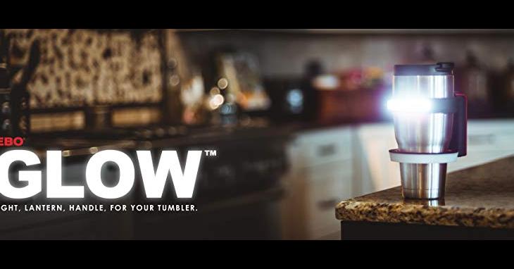 Drinking Glass, Cup, Mug, Drink, RTIC, Light, Nebo 6668 Glow Flash Light Handle for your 890ml Tumbler, Tea, Trinkgläser 450ml mit Deckel + Strohhalme im Tragekorb Picknick Garten Getränke, NEBO Glow Yetti Tumbler Holder Will fit a 30oz Tumbler or a 20oz Tumbler with The Included Insert, drink, Lighting, Lamp