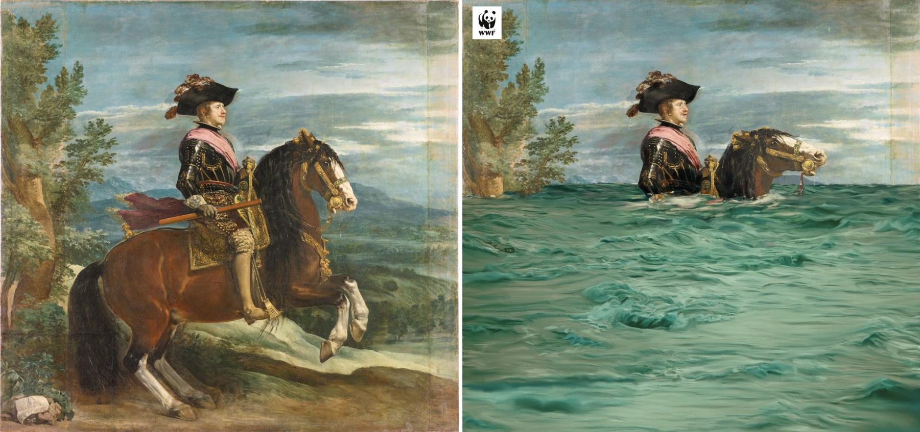 照片中提到了WWF,包含了príncipebaltasar carlos a caballo 1635龐帕度夫人、迭戈·貝拉斯克斯(DiegoVelázquez)、阿斯圖里亞斯王子巴爾塔薩·查爾斯(Balthasar Charles)、普拉多國家博物館、巴爾塔薩爾·查爾斯王子的馬術肖像