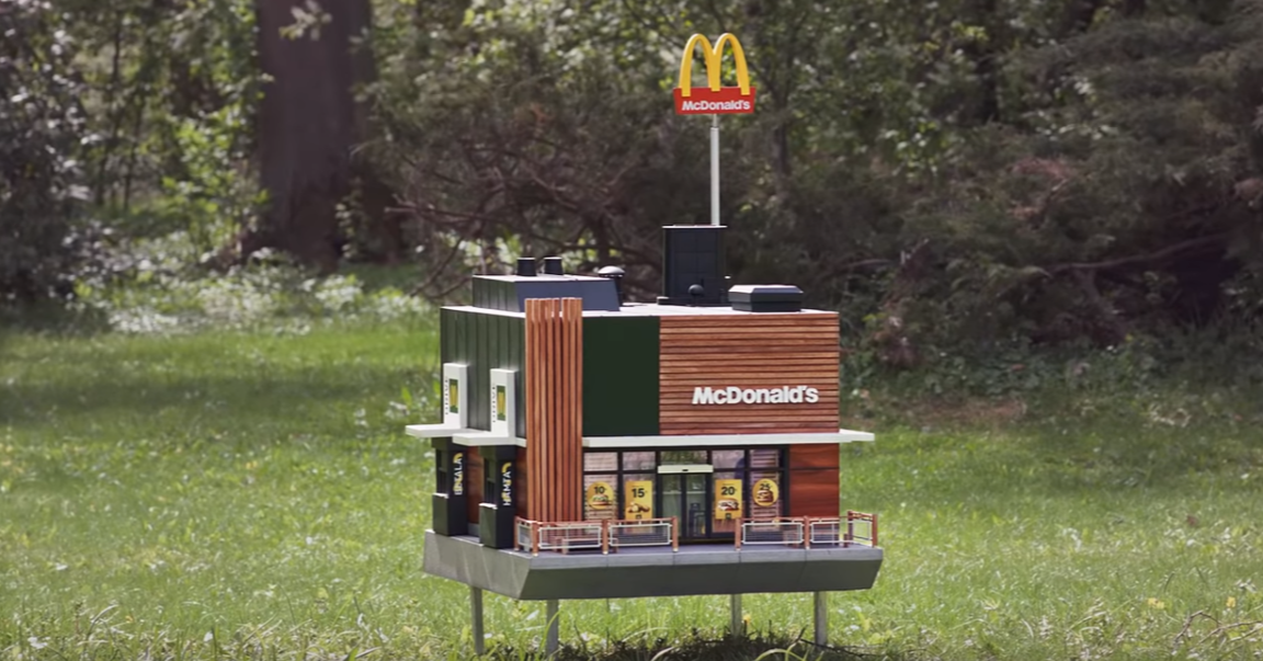 , McDonald's, Fast food, Recreation, Customer, Planet, tree, Transport, Architecture, House, Vehicle