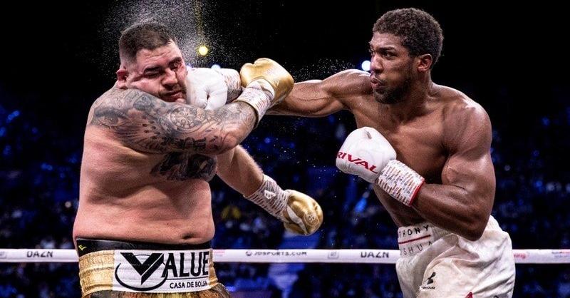 照片中提到了RIVAL、THONY、SHU,跟Venevisión有關,包含了安東尼·約書亞、安東尼·約書亞、小安迪·魯伊斯(Andy Ruiz Jr.)、重量級、拳擊