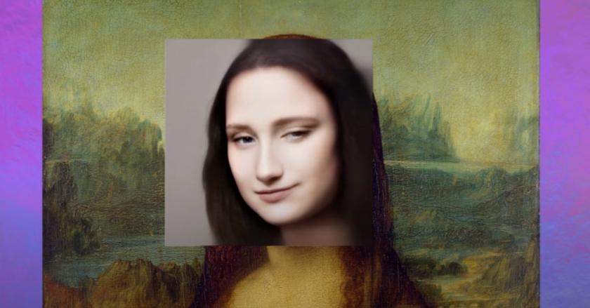 照片中包含了蒙娜麗莎、蒙娜麗莎、達芬奇(Leonardo da Vinci)、羅浮宮博物館、繪畫