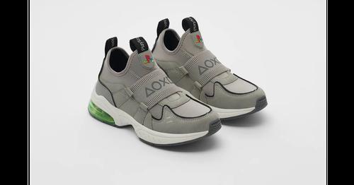 PlayStation聯名快時尚推出球鞋