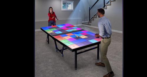 不一樣的桌球遊戲,燈關的愈多就輸