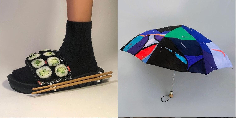 照片中包含了鞋子、鞋子、時尚、服裝、設計