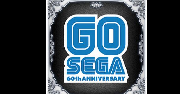 照片中提到了GO、SEGA、60th ANNIVERSARY,跟世嘉有關,包含了世嘉、商標、牌、產品設計、標籤