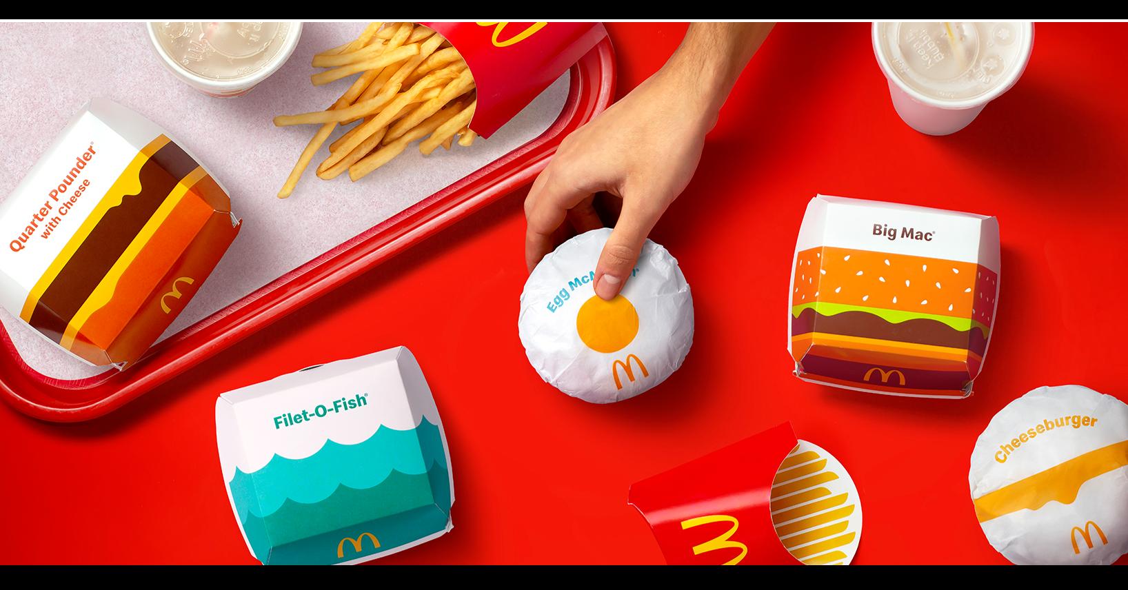 照片中提到了Egg McA、Filet-O-Fish、Big Mac,跟切格有關,包含了麥當勞、漢堡包、麥當勞、垃圾食品、快餐餐廳