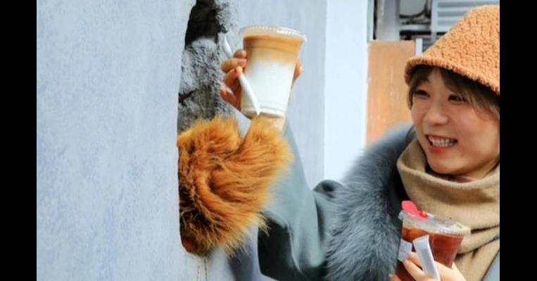 照片中包含了熊爪咖啡館上海、咖啡店、咖啡、餐廳、爪子咖啡館