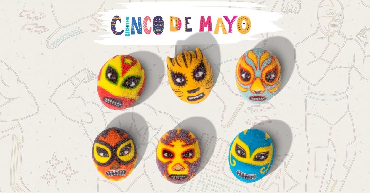 照片中提到了CINCO DE MAYO,包含了產品設計、產品、黃色、字形、儀表
